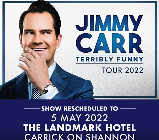 Jimmy Carr- Terribly Funny Tour 2022